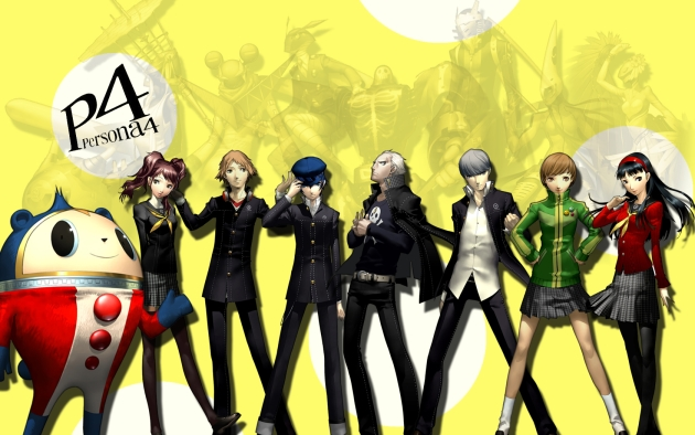 Persona 4 Persona 4 The Ultimate in Mayonaka Arena, fighting game de Arc System Works