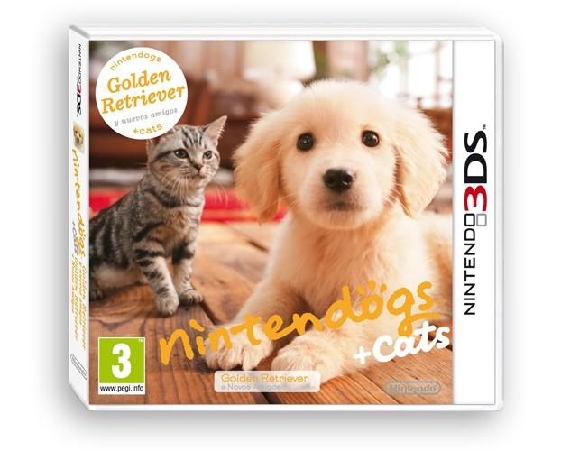 nintendogs+cats Golden Retriever