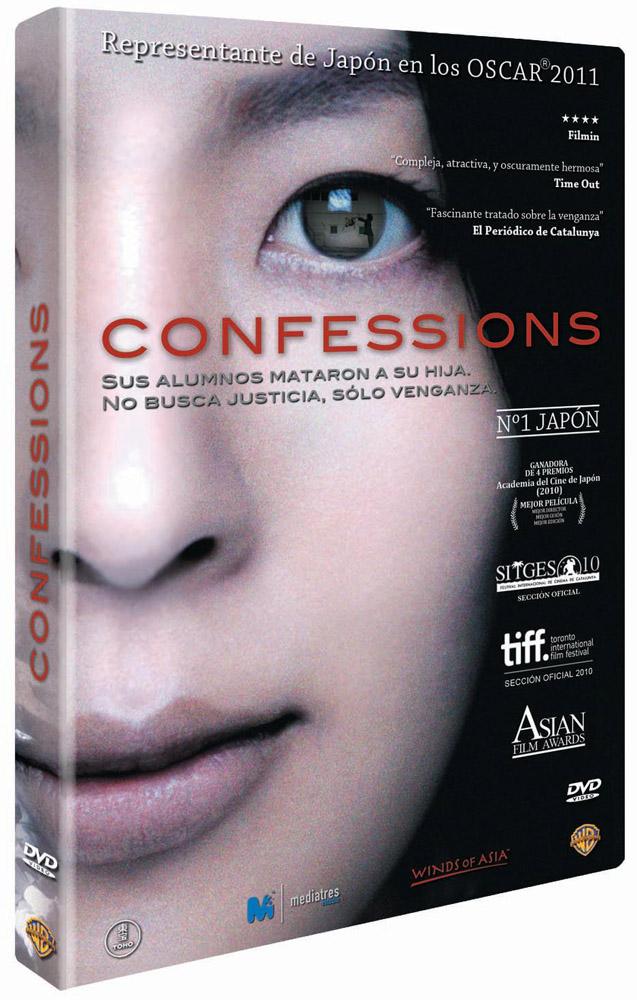 Confessions portada