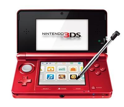 Nintendo 3DS roja