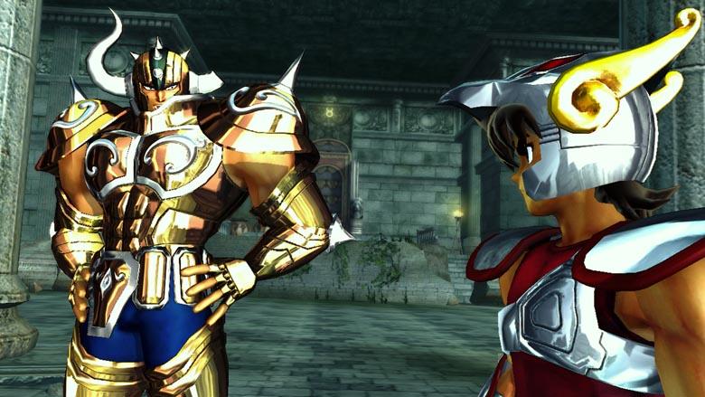 Imagenes del juego de saint seiya PS3