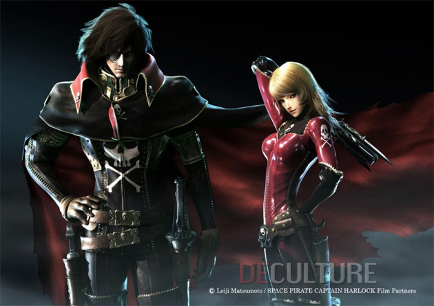 Space Pirate Captain Harlock CG 3D