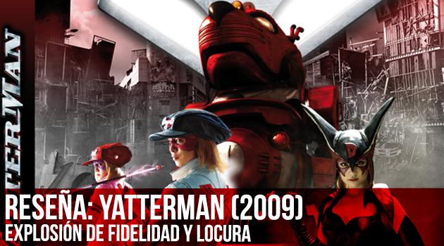 reseña yatterman logo