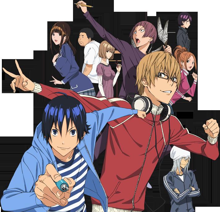 main image La segunda temporada de Bakuman, a partir del 1 de octubre
