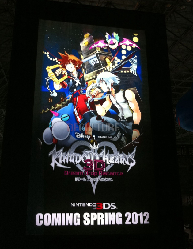 Kingdom Hearts 3D Dream Drop DIstance1 Neku Sakuraba, de TWEWY, en Kingdom Hearts 3D Dream Drop Distance