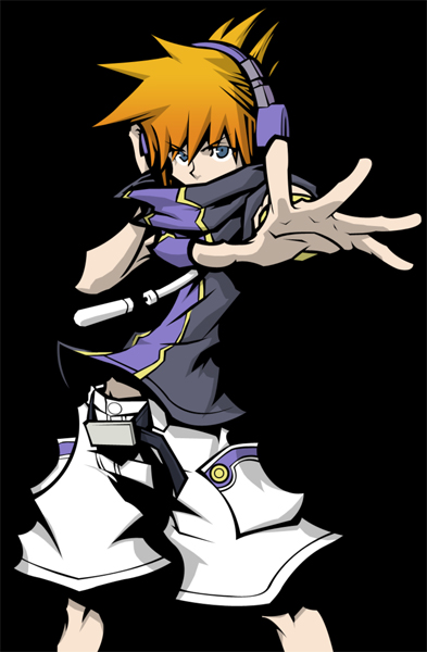 Neku Sakuraba Kingdom Hearts 3D3 Neku Sakuraba, de TWEWY, en Kingdom Hearts 3D Dream Drop Distance
