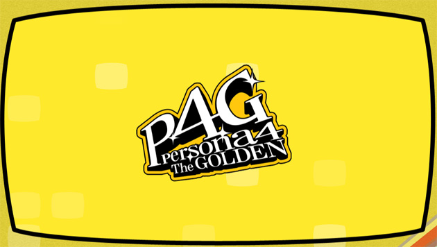 Persona 4 The Golden logo Web oficial de Persona 4 The Golden y The Ultimate in Mayonaka Arena