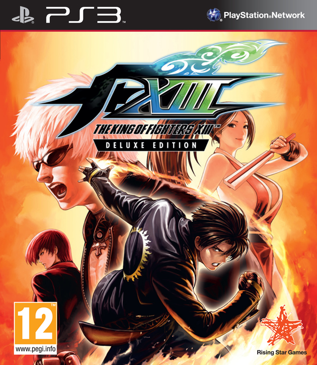 The King of Fighters XIII PAL Cover ps3