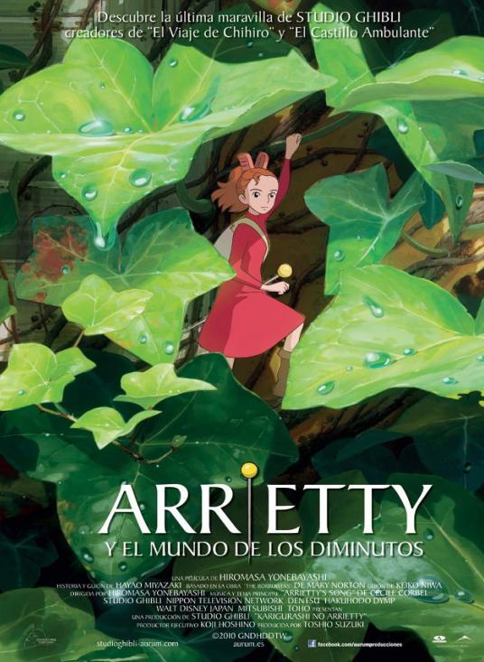 arrietty-mundo-diminutos-poster