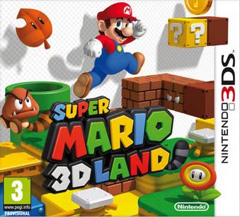 Super Mario 3d Land pal cover