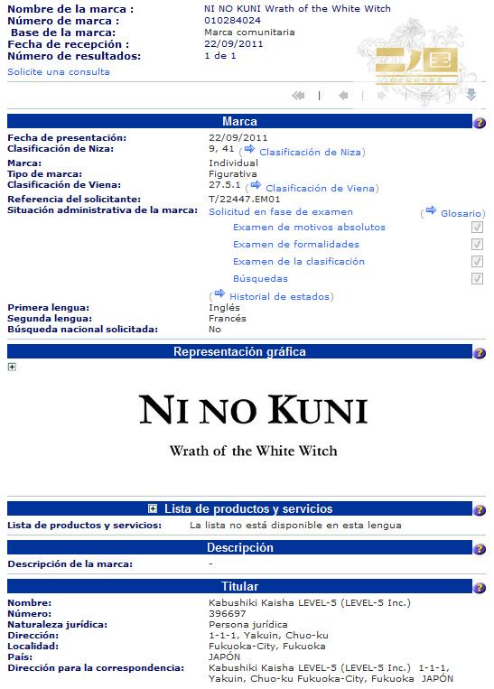 ni no kuni europa Ni no Kuni llegará a Europa