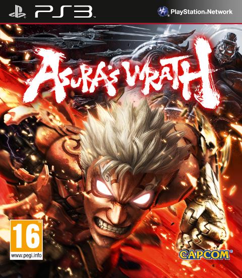 Asura's Wrath PAL Cover ps3