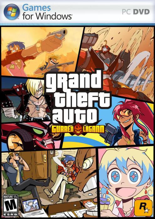 Grand Theft Auto Gurren Lagann