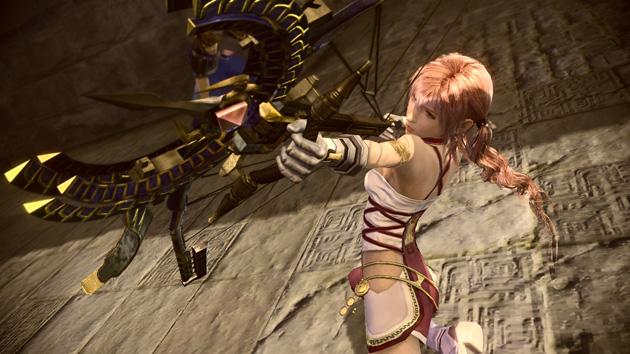 Final Fantasy XIII-2 DLC Xbox 360 arco azrael serah