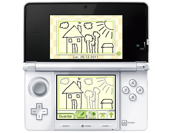Correo Nintendo aplicación para Nintendo 3DS que permite enviar cartas