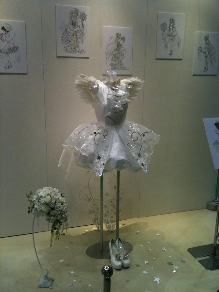 vestido de novia card captor sakura 01