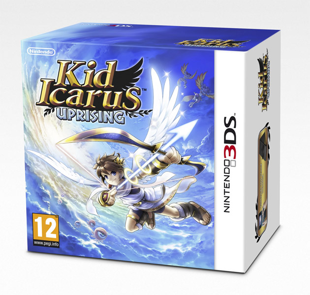 Kid Icarus Uprising PAL
