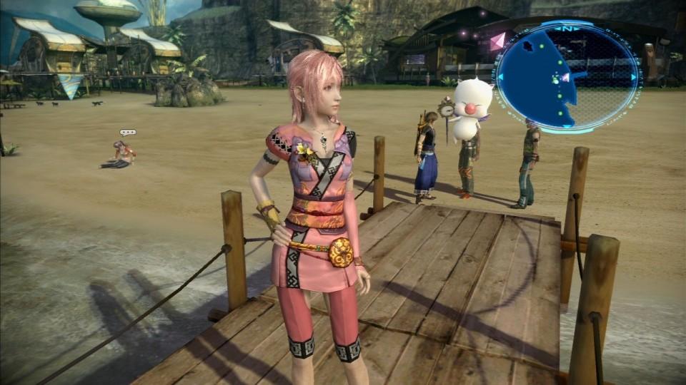 Final Fantasy XIII-2 DLC Serah