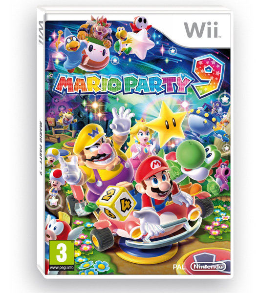 Mario Party 9 PAL Cover