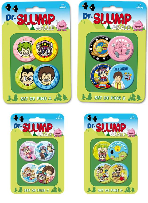 Pins Dr Slump El merchandising de Dr. Slump Arale que se avecina en 2012
