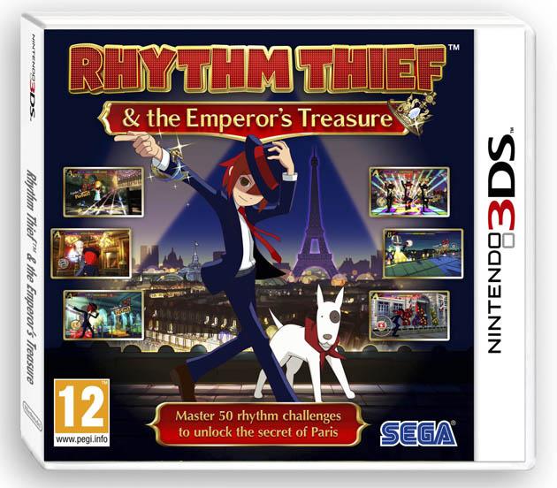 Rhythm Thief y el misterio del Emperador portada pal
