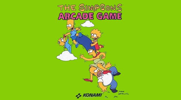 los simpsons arcade game portada