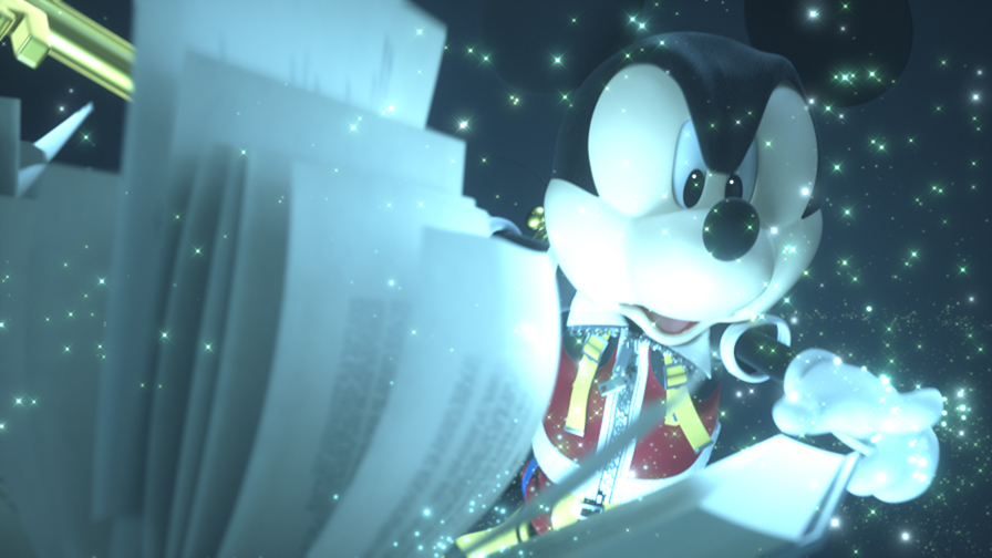 KH3D 1 Kingdom Hearts 3D Dream Drop Distance, imágenes del opening