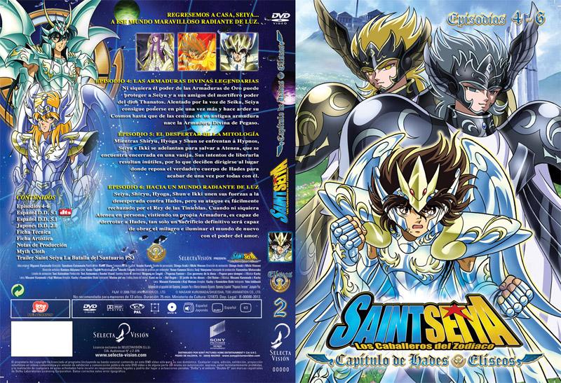 Saint Seiya Capítulo de Hades Elíseos 2 portada 02 El final del anime Saint Seiya en España en V Japan Weekend Barcelona