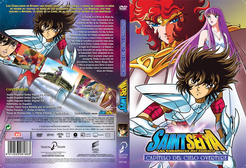 Saint Seiya capítulo del cielo overture portada El final del anime Saint Seiya en España en V Japan Weekend Barcelona