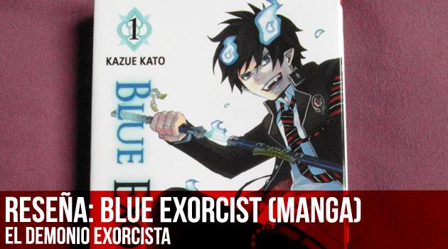 reseña blue exorcist portada