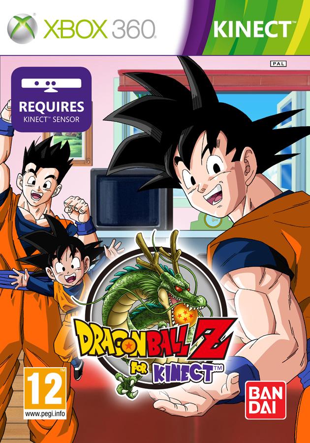 Dragon Ball for Kinect pal cover