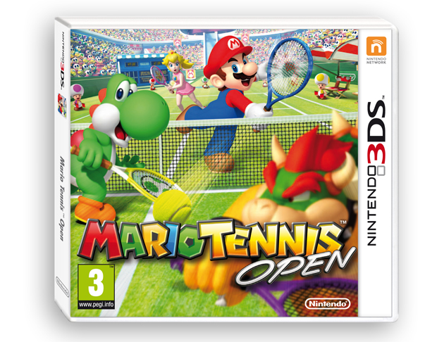 Mario Tennis Open portada PAL