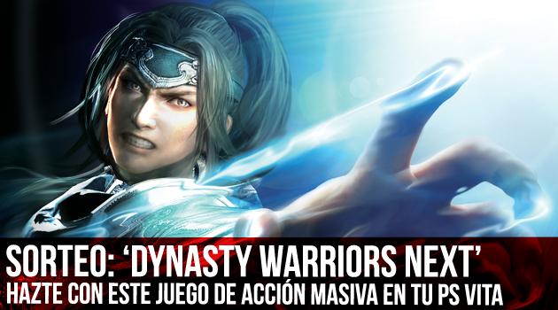 sorteo dynasty warriors next