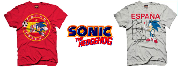Camisetas de Sonic The Hedgehog en Carrefour
