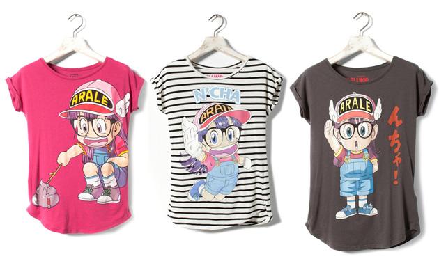 camisetas chica dr slump arale