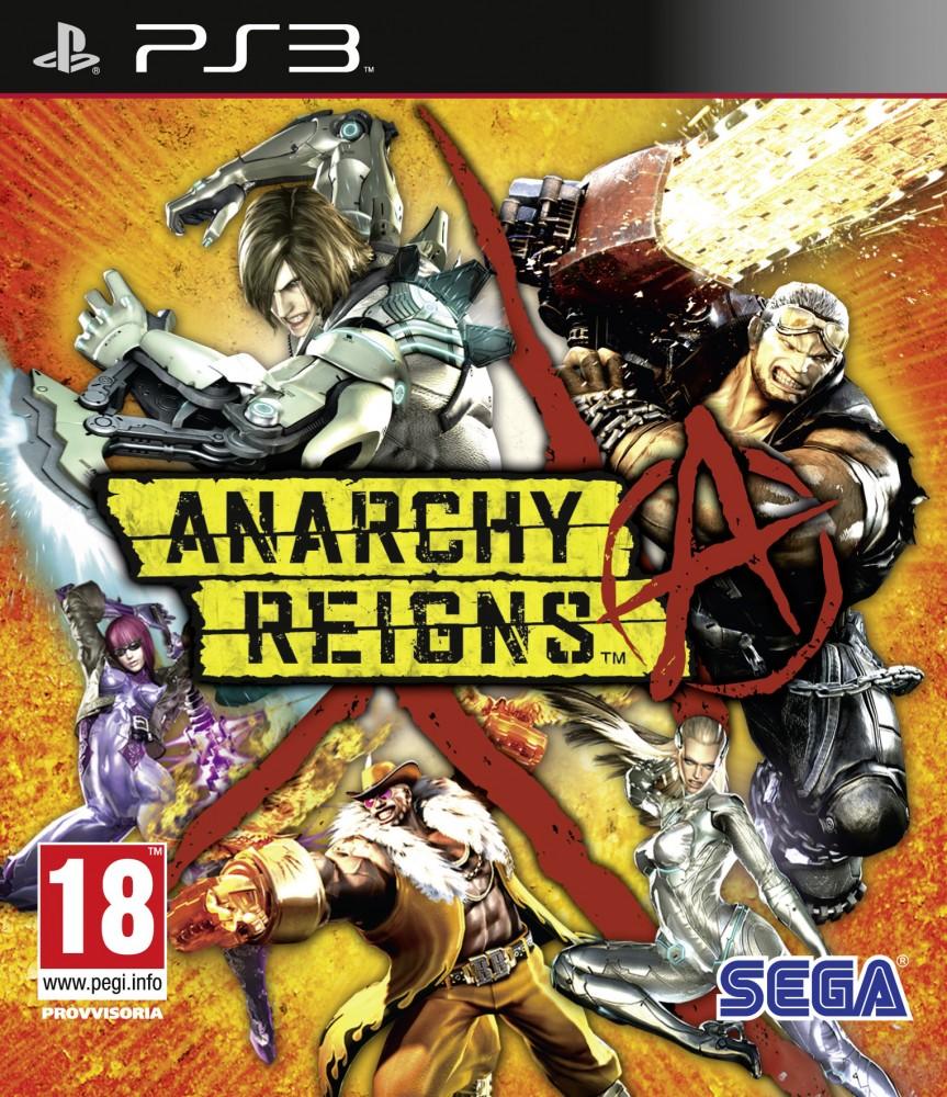 Anarchy Reigns portada