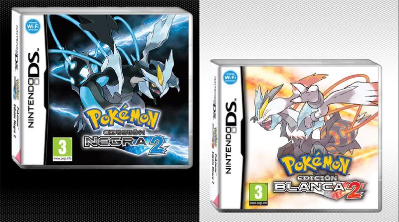 Portada Pokemon Edicion Negra 2 Blanca