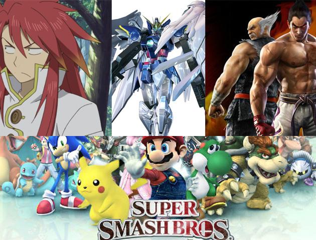 Super Smash Bros Namco Bandai