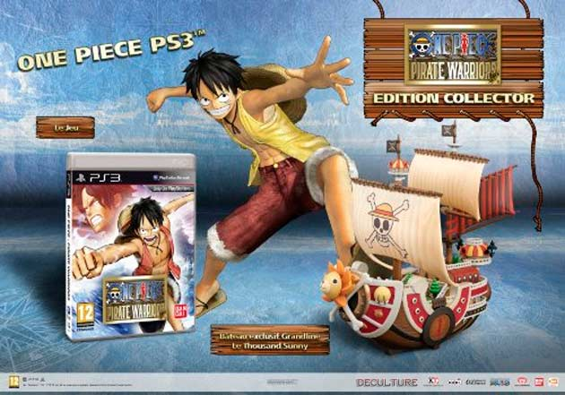 One Piece Pirate Warriors Edicion Coleccionista