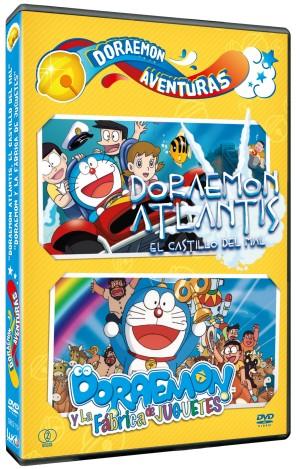 Doraemon Aventuras 2 e1345547926484 Doraemon Aventuras, recopilatorio de películas del gato cósmico