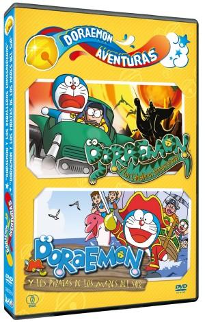 Doraemon Aventuras 4 e1345547962863 Doraemon Aventuras, recopilatorio de películas del gato cósmico