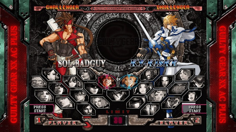 Guilty Gear XX Accent Core Plus ps3 360 01