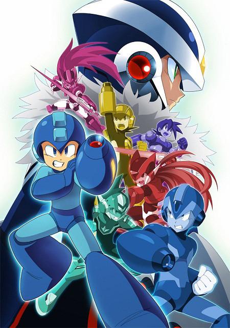 Megaman x Over art