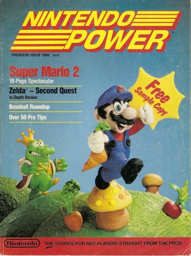 Nintendo Power 01