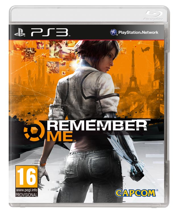 Remember Me PS3 cover