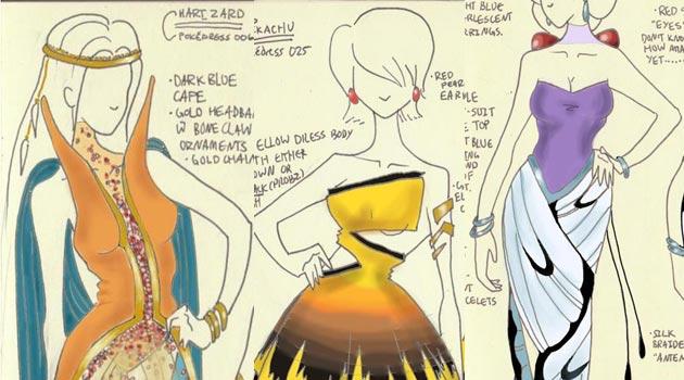 pokevestidos Pokevestidos, diseños de vestidos inspirados en Pokémon