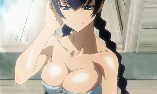 saeko busujima Las 50 pechugonas del anime más deseadas, según Biglobe