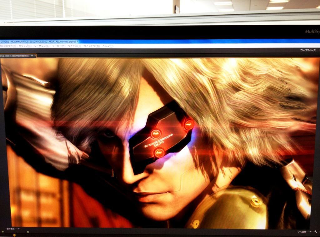 Metal Gear Rising Revengeance trailer tgs 2012 Primera imagen del tráiler de Metal Gear Rising: Revengeance para el TGS 2012