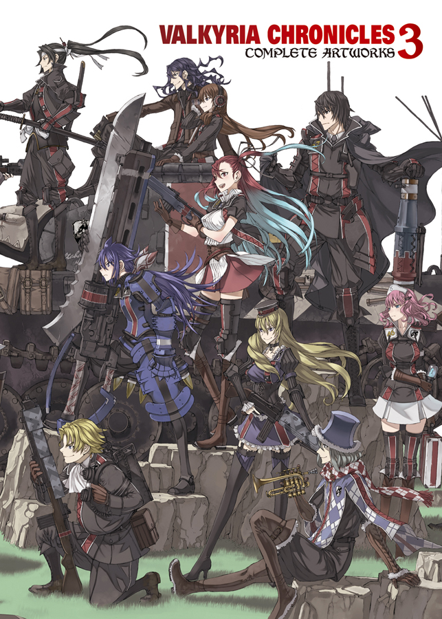 Valkyria Chronicles 3 Complete Artworks cover