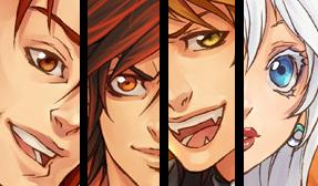 bakemono collage